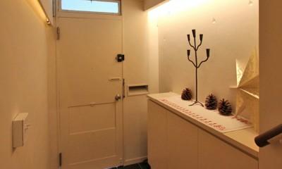 日吉N邸 マンションリノベーション (玄関)