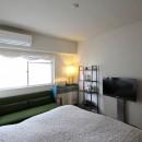 日吉N邸 マンションリノベーションの写真 ベッドルーム