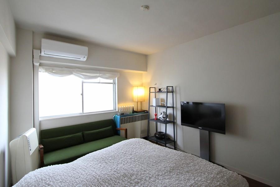 日吉N邸 マンションリノベーション (ベッドルーム)