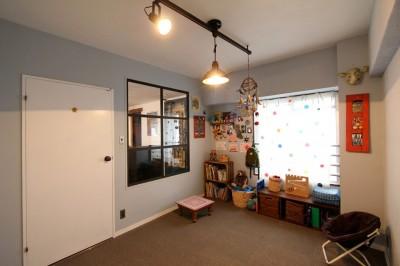 子供部屋 (南花畑マンションリノベーション)