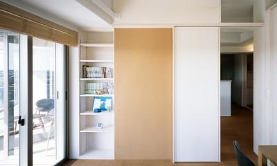 H邸リノベーション ー子供部屋と書斎をつくる (子供部屋)