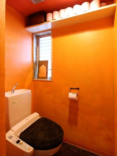 トイレ (南花畑マンションリノベーション)