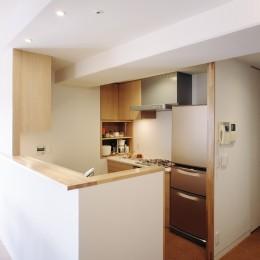 H邸リノベーション ー子供部屋と書斎をつくる (キッチン)