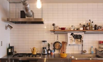キッチン|恵比寿マンションリノベーション