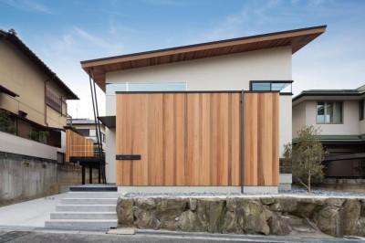 赤坂台の家 (外観)