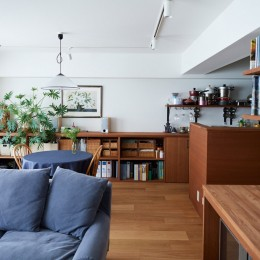 直感と趣味を大切にした家作りは、一人暮らしならではの醍醐味。