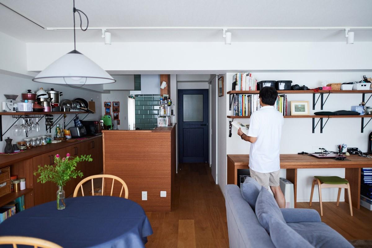 リノベーション・リフォーム会社:インテリックス空間設計「直感と趣味を大切にした家作りは、一人暮らしならではの醍醐味。」