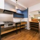 『レトロ感を大切に』の写真 キッチン