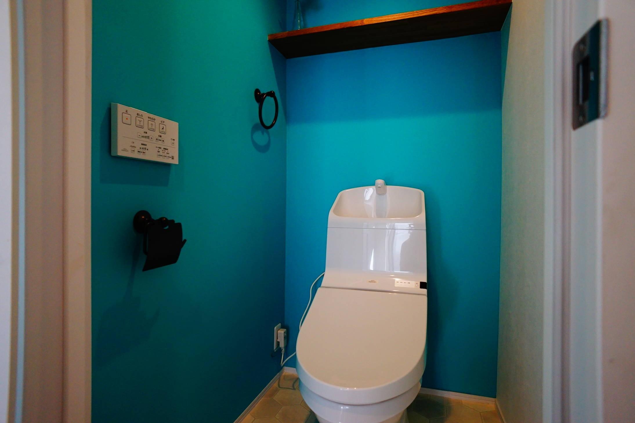 バス/トイレ事例:トイレ(『パパが似合うキッチン』)
