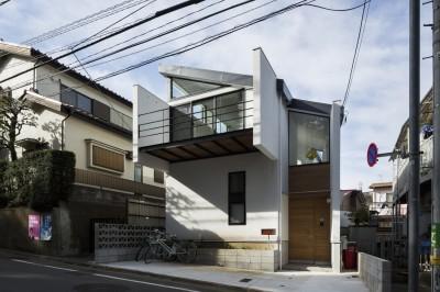 仙川の家~周辺環境を活かした住宅~ (外観)