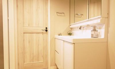洗面室|ノルディックスタイル 3LDK