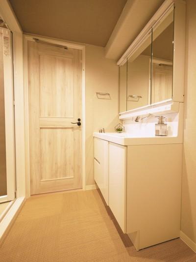 洗面室 (ノルディックスタイル 3LDK)