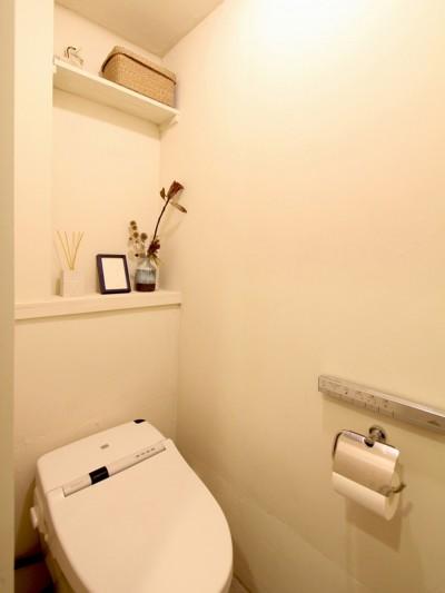 トイレ (難アリ間取りを利点に逆転(鷺沼M邸 マンションリノベーション))