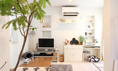 猫と暮らす、二世帯住宅(成城学園前 戸建てリノベーション)