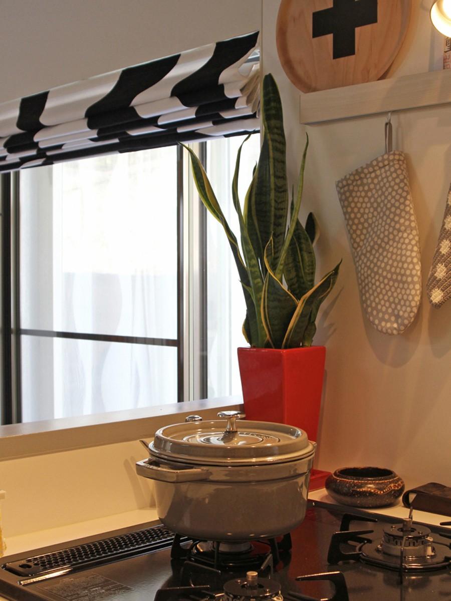 猫と暮らす、二世帯住宅(成城学園前 戸建てリノベーション) (キッチン(1階))