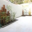 猫と暮らす、二世帯住宅(成城学園前 戸建てリノベーション)の写真 アウトドア