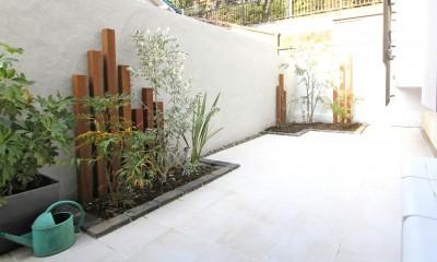 アウトドア|猫と暮らす、二世帯住宅(成城学園前 戸建てリノベーション)