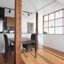 猫と暮らす、二世帯住宅(成城学園前 戸建てリノベーション)の写真 LDK(2階)