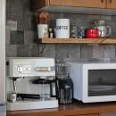 猫と暮らす、二世帯住宅(成城学園前 戸建てリノベーション)の写真 キッチン(2階)