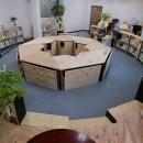 インテリアブックワームカフェ設計事務所の住宅事例「OFFICE WOLISU~16名で囲む大テーブル~」