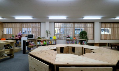 WINDOW|OFFICE WOLISU~16名で囲む大テーブル~