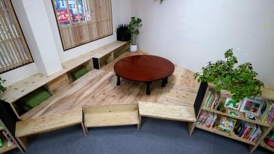 ひなたスペース (OFFICE WOLISU~16名で囲む大テーブル~)