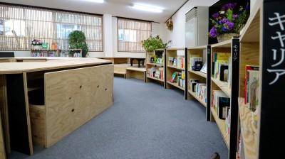 図書館 (OFFICE WOLISU~16名で囲む大テーブル~)