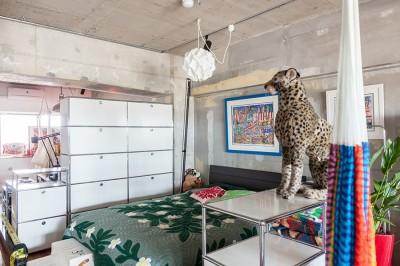 ベッドルーム (U邸-住み慣れた家、大好きな家具、夫婦で楽しむセカンドライフ)