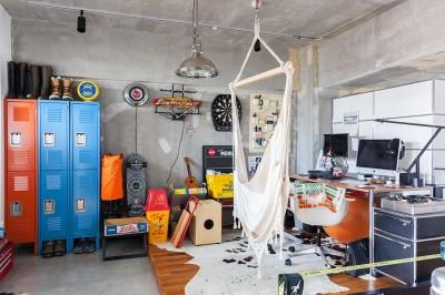 書斎 (U邸-住み慣れた家、大好きな家具、夫婦で楽しむセカンドライフ)