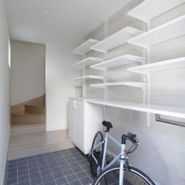 建築家 (株)小木野貴光アトリエ一級建築士事務所の住宅事例「2つの使い方のある、土間空間がある家」