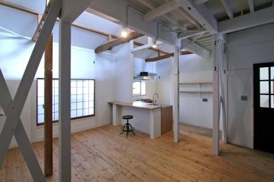 ダイニングキッチン (川口 戸建てリノベーション)
