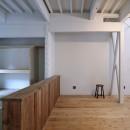 川口 戸建てリノベーションの写真 リビング・和室