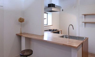 キッチン|川口 戸建てリノベーション