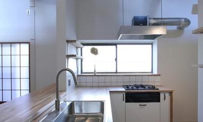 川口 戸建てリノベーション (キッチン)