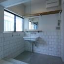 川口 戸建てリノベーションの写真 洗面室