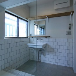 川口 戸建てリノベーション (洗面室)