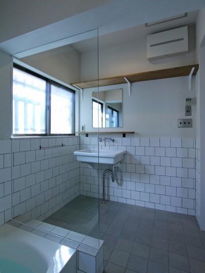 洗面室 (川口 戸建てリノベーション)