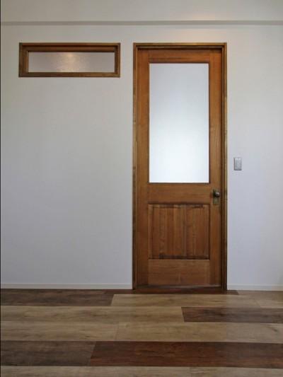 個室の建具 (習志野 戸建てリノベーション)