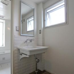 習志野 戸建てリノベーション (洗面室)