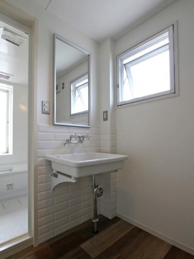 洗面室 (習志野 戸建てリノベーション)