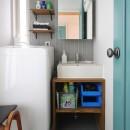 南生田 戸建てリノベーションの写真 洗面室