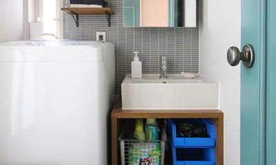 南生田 戸建てリノベーション (洗面室)