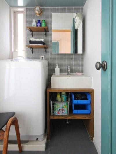 洗面室 (南生田 戸建てリノベーション)
