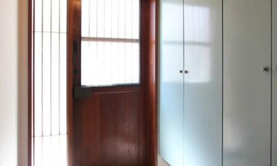 南生田 戸建てリノベーション (玄関)