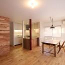 旭区 戸建てリノベーションの写真 ダイニングキッチン