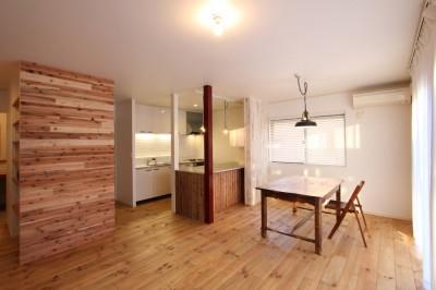 ダイニングキッチン (旭区 戸建てリノベーション)