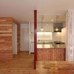 旭区 戸建てリノベーション (ダイニングキッチン)