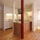 旭区 戸建てリノベーションの写真 キッチン
