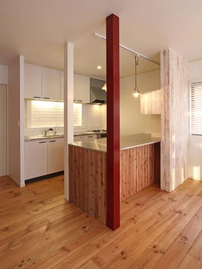 キッチン (旭区 戸建てリノベーション)