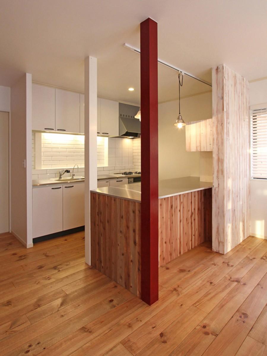 キッチン事例:キッチン(旭区 戸建てリノベーション)